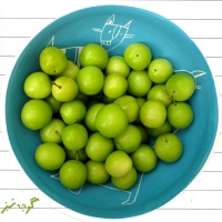 Gojeh Sabz -  Green Cherry Plums!