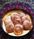 Koloocheh kooloocheh Persian cookie for Norooz recipe posted by Fig & Quince (Iranian food blog)