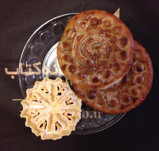 kooloocheh & noon panjareh shirini Iranian pastries still life | @figandquince (Persian food culture blog)