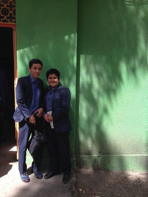 boys Persian Iranian Alborz high school