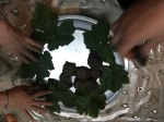 Stuffed Persian grape leaves - Dolmeh recipe and tutorial