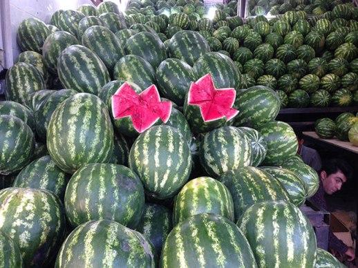 watermelon Shiraz iran hendooneh