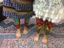Persian women golabatoon jonoobi pants carpet Iran