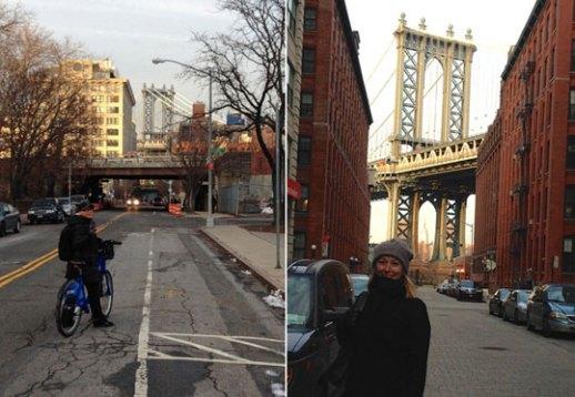 Manhattan Bridge in DUMBO, Brooklyn