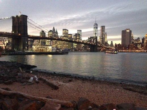 Gorgeous Manhattan skyline from DUMBO