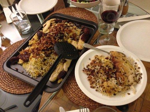 Adas Polo Persian Lentil Rice