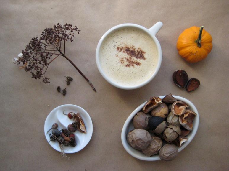 04 Persianized Pumpkie Pie Latte Coffee Nooshidani hot
