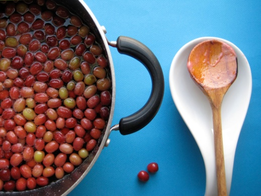Making jam and syrup and marmalade with cornelian cherry