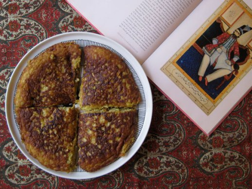 Quince Kookoo (kookoo 'ye beh) | A delicious Persian food cooking Iranian food