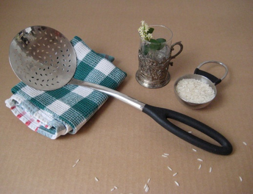 Tools-4-kafgir-spatula-Persian-rice-polo-damkoni-tea towel