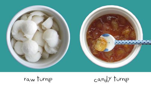 turnip-beforeAfter-shalgam-jam-caramelized-Persian-cuisine-food-blog-Fig-Quince