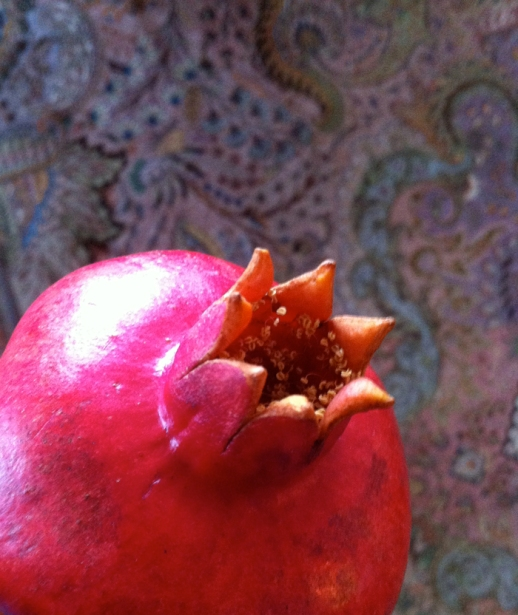 pomegranate anar persian food persian carpet photo Persian food blog