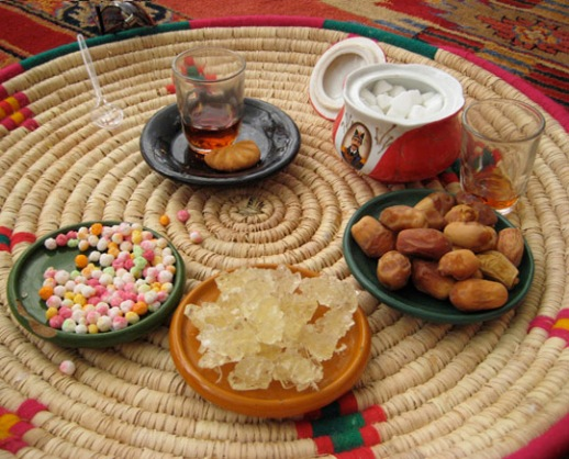 Tea, dates & sweets - A fitting end to a fine Persian meal | Shiraz, Iran