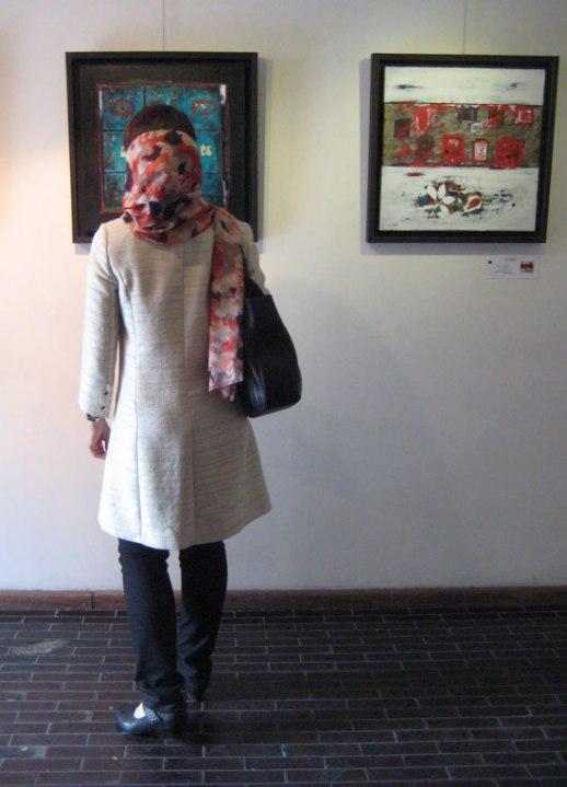 Tehran Seyhoun Art Gallery Reza Afassari exhibition namayeshgah