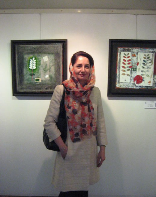 woman art gallery tehran Iran seyhoun gallery exhibit reza afsari