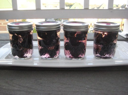 Grape pickle Persian torshi jars recipe food blog Iranian