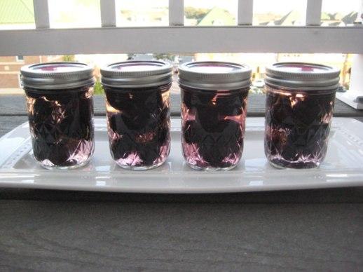 Grape pickle Persian torshi jars recipe food blog Iranian