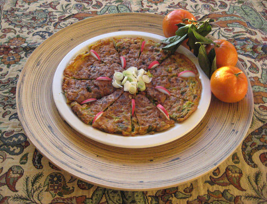 Torshi search results fig quince page 2 kookoo sabzi herb kuku persian food on paisley cloth iranian fabric with tangerines forumfinder Gallery