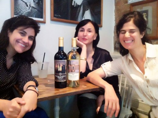 Marjan-Azita-Louisa-coffee-Brooklyn-Persian-writers-1