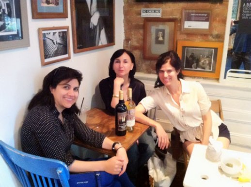 Marjan-Azita-Louisa-coffee-Brooklyn-Persian-writers-2