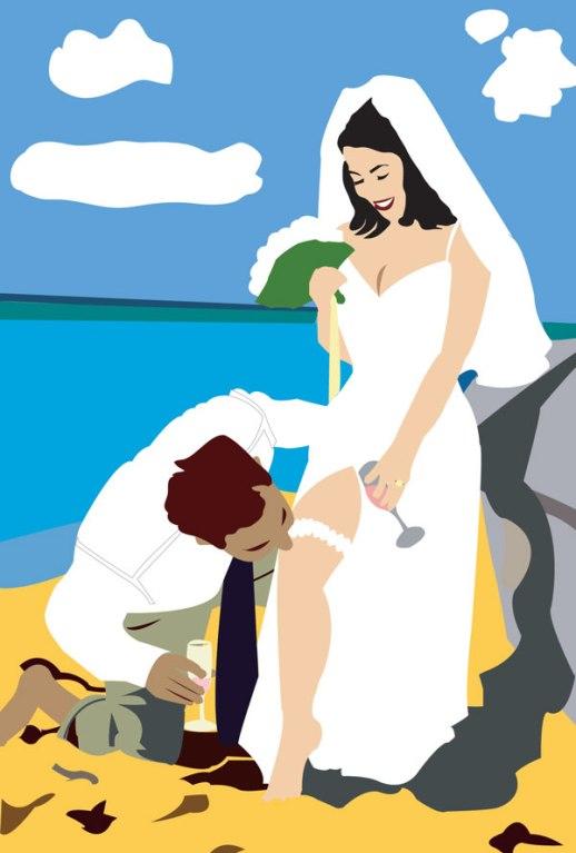 newlyweds-beach-illustration-digital-garter