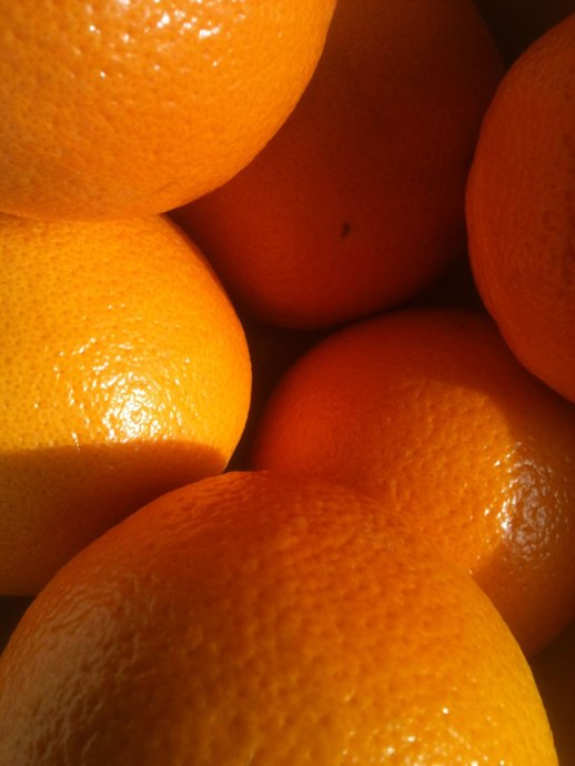 Oranges close up |@figandquince (Persian food culture blog)