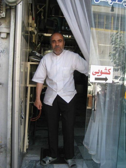 Friendly Persian kaleh pacheh | Tehran, iran 2014