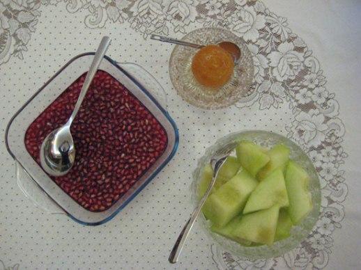 ژله انار Pomegranate jello (jeleh ye anar) Persian food dessert