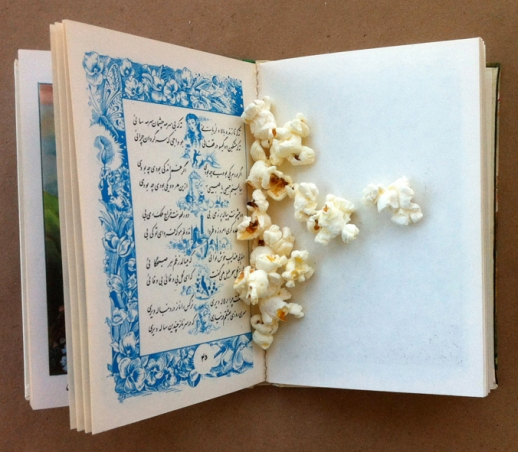 popcorn poetry book Persian baba taher
