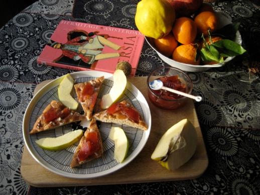 quince jam moraba beh persian preserve recipe Iranian food cooking culture blog