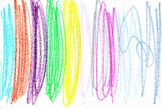 drawing/illustration of color pencil squiggles  | figandquince.com | Azitahoushiar.com