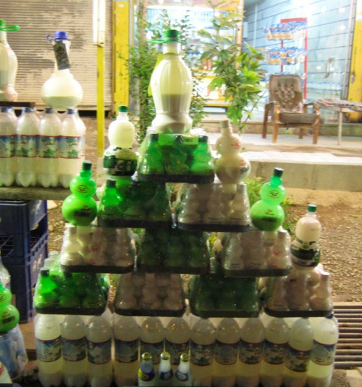 bottled doogh (Persian yogurt based soft drink) for sale at rest stop in Abeli, Iran |FigandQuince.com