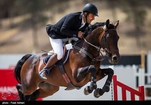 Concours de Saut International held in Tehran | Male Horseback Rider