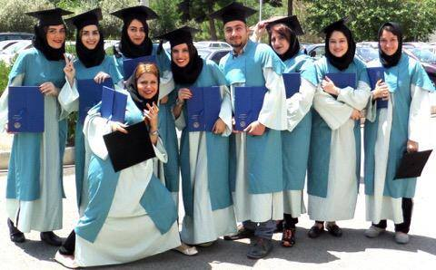 University of Tehran graduates, graduation ceremony, Tehran, Iran |figandquince.com 2015 Class of 1385!