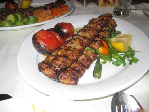 Mouthwatering cholo kabob Koobideh Iran food delicious posted by Fig & quince (Persian food culture blog)