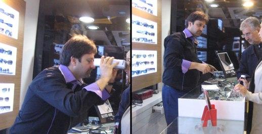 optometrist and  optician shop, Tehran Iran 2014 - pix & story Fig & Quince (Persian food culture blog)