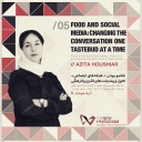 Azita Houshiar TEDx Tehran Food social media speaker