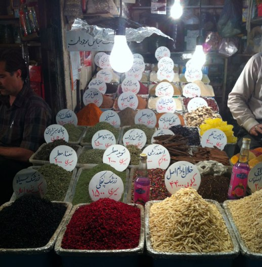 advieh (Persian mixed spices) in kermanshah grand bazaar, Iran | Fig & Quince, My Epic trip to Iran 2014