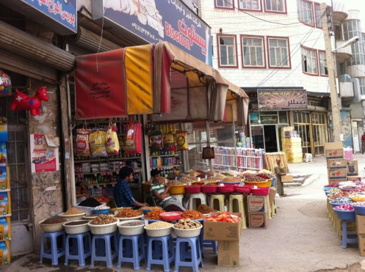 shops near Kermanshah Grand Bazaar, Iran | Fig & Quince (Persian food culture blog) My Epic Trip to Iran 2014